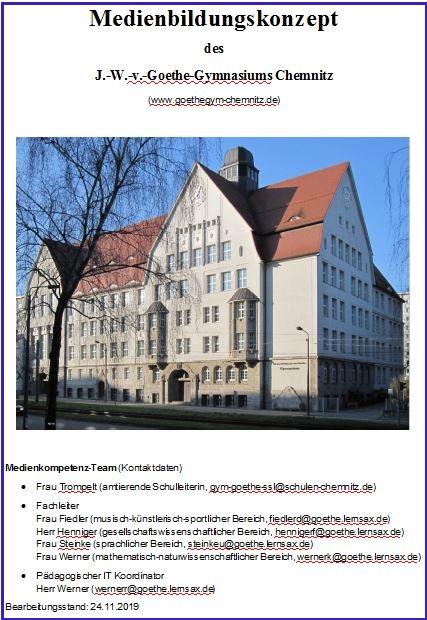 Intranet Goethe Schule